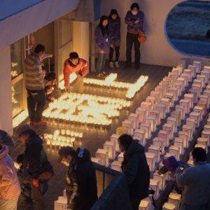 宮城県名取市閖上(ゆりあげ)地区の追悼イベントで使用する絵灯篭の絵を募集