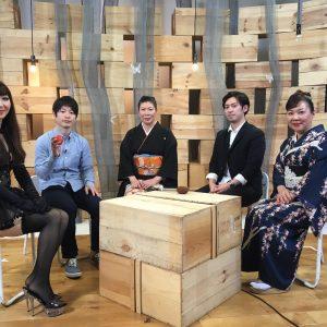 柏村早織里さん、BS日テレ「TOKYO DESIGN WEEK.tv」に出演