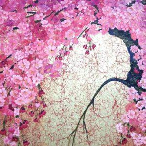 岸野フサヨ 日本画展