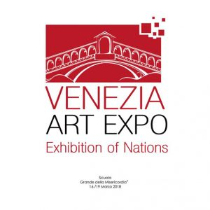 柏村早織里さん、Venezia Art Expo THE WORLD OF ART MEETS VENICEに参加