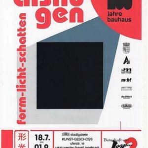 バウハウス100周年記念美術展」嚴愛珠展『Form- Licht- Shatten』( 形と光と影 )