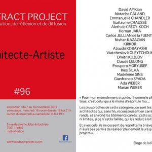 「Architecte-Artiste」展