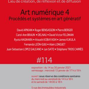 「Art Numérique 4 Procédés et systèmes en art génératif」