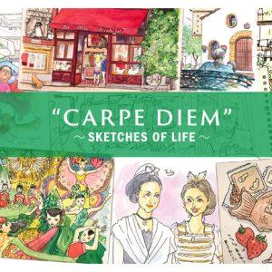 近藤麗子展『CARPE DIEM』〜Sketches of Life〜